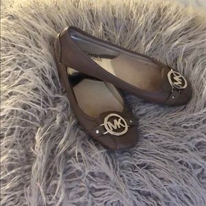 Michael Kors Grey Flats